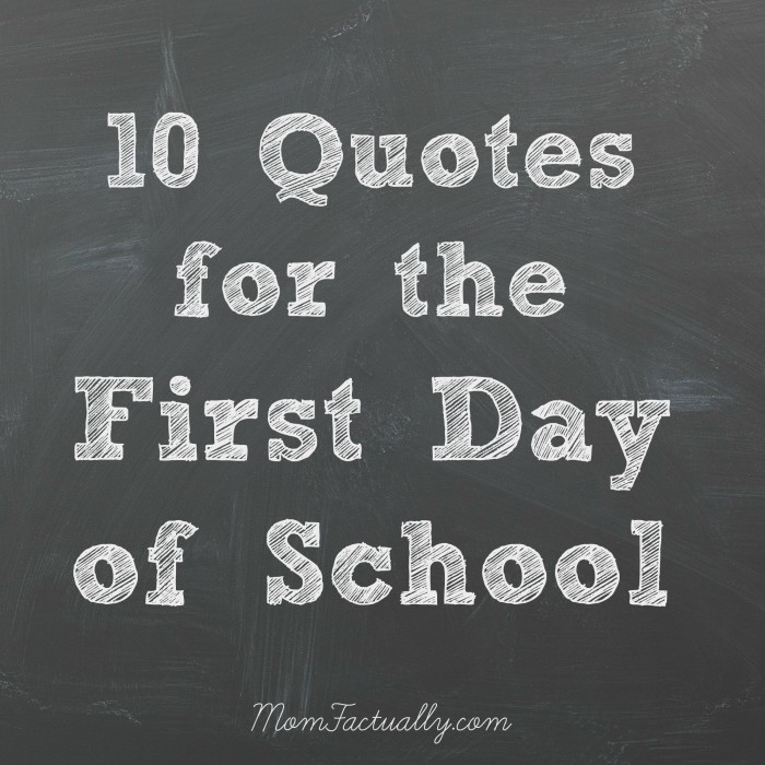 10 Great Education Quotes For Back To School